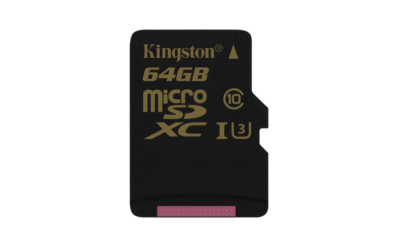 Kingston Gold microSD